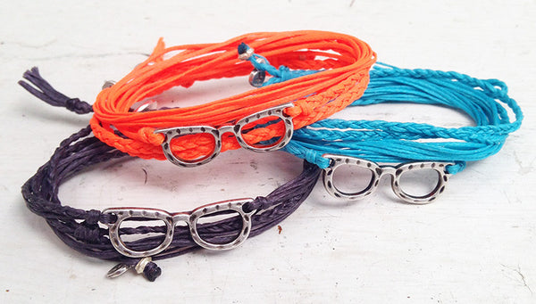 The Pure Glasses wrap bracelet
