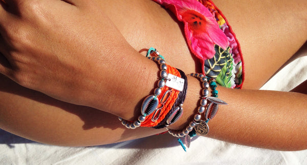 The Sea Shell wrap bracelet