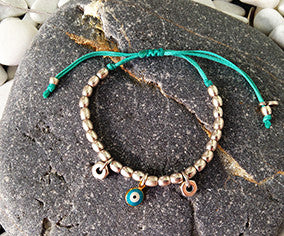 The Cylinder and Bolts bracelet or anklet