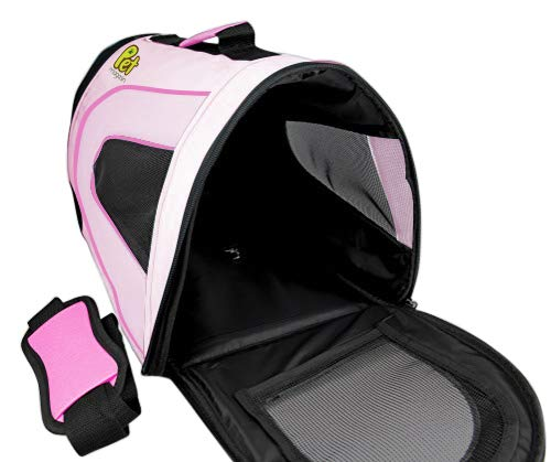 Soft-Sided Pet Carrier For Cats & Small Dogs