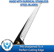 Pet Thinning Shears For Cats, Dogs, Horses & Pets