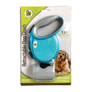 Retractable Dog Leash Cord Retractable Dog Lead with Ergonomic Design & Smooth Leash Retraction [Waste Dispenser included]