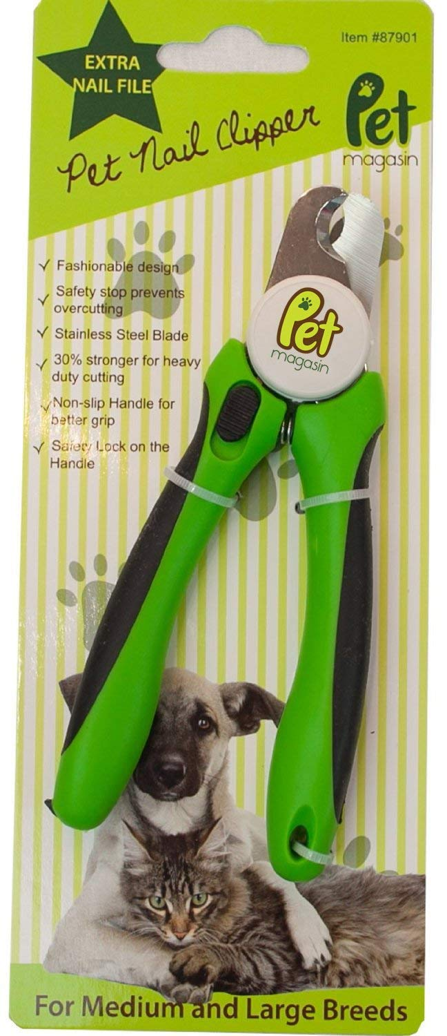 Professional Dog Nail Clippers with Sharp Stainless Steel Structure for Small Medium & Large Dogs