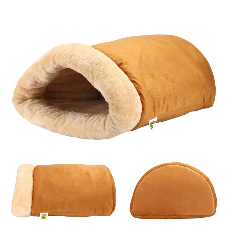 Cat Cave - A Four-Way Snuggly Bed and Hideaway for Cats-Pet Magasin