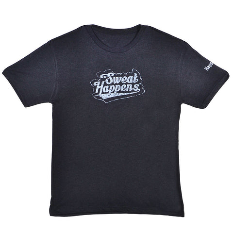 Happegear® Men's Vintage Black T-Shirt