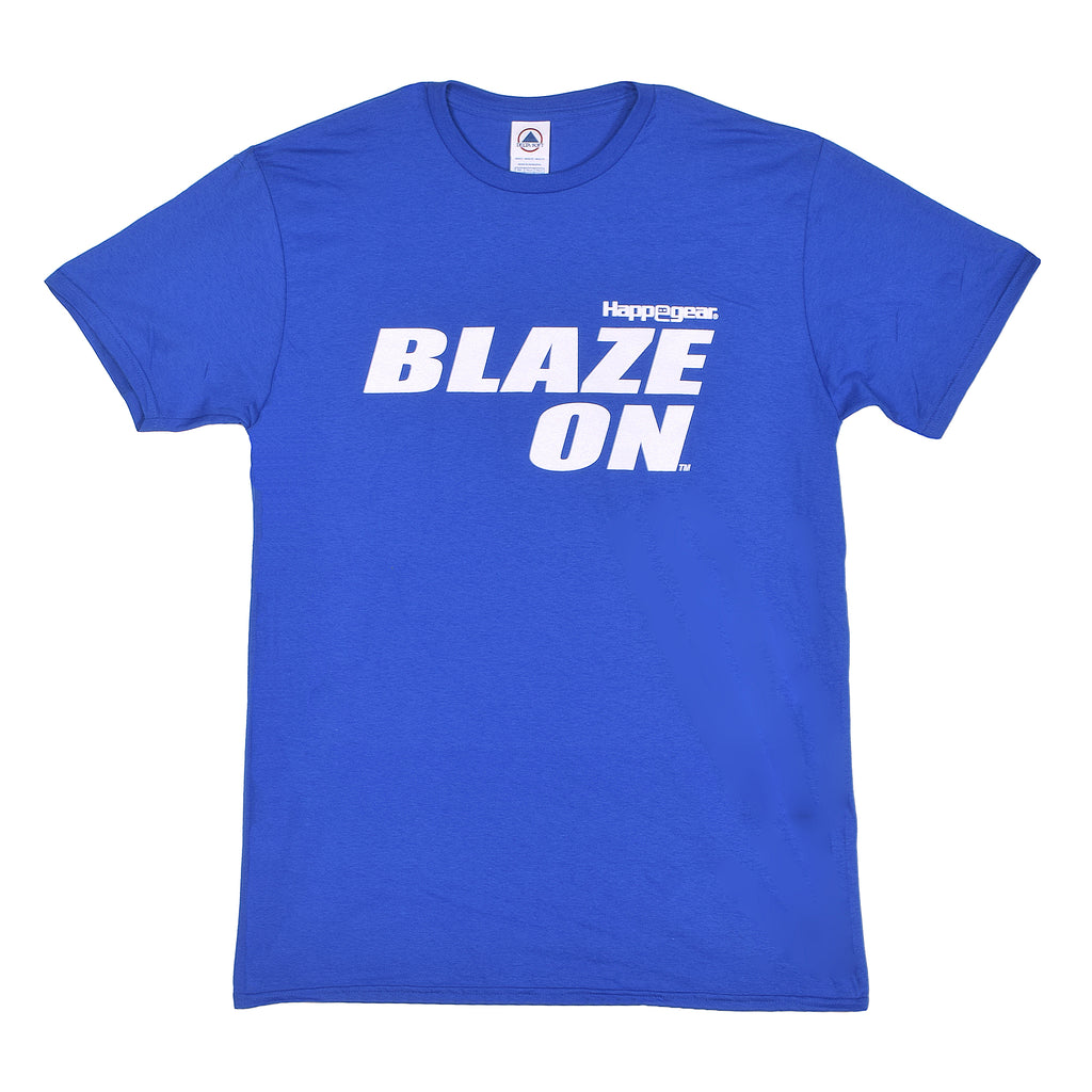 Happegear® Royal Blue Blaze On® T-Shirt