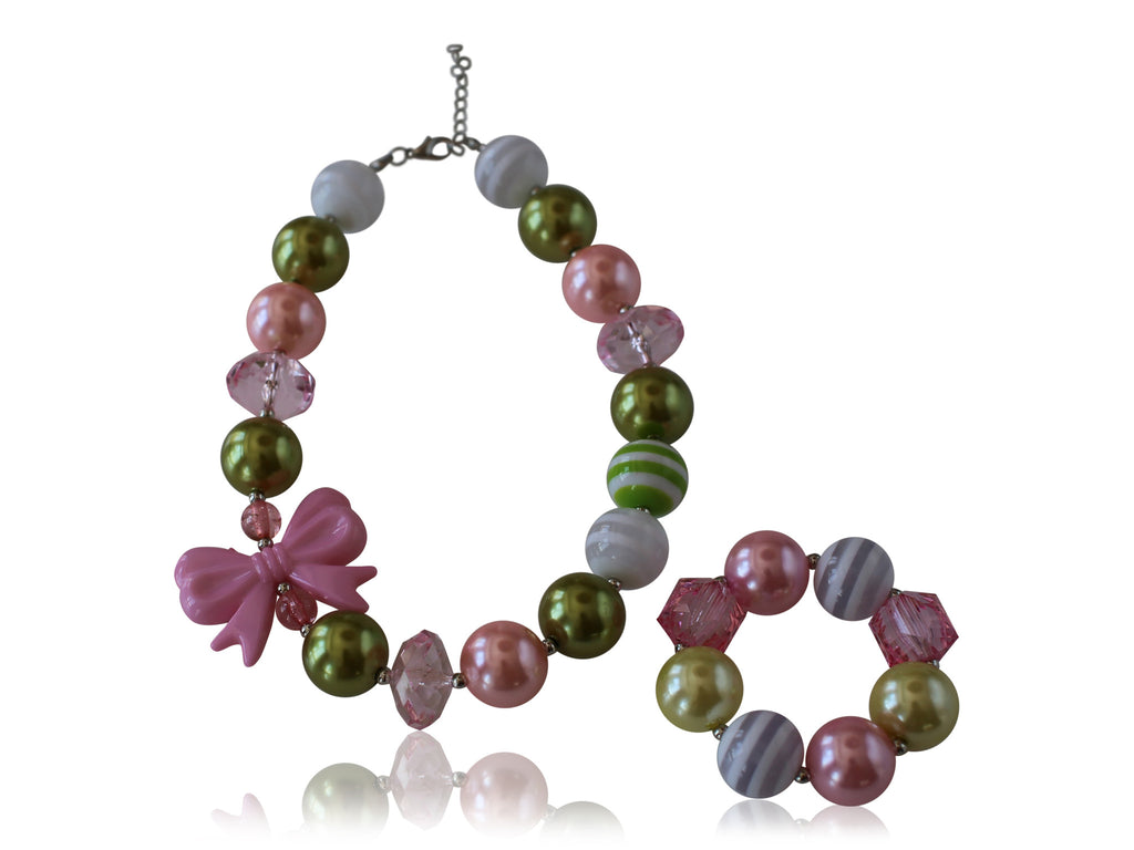 Necklace & Bracelet Set (6 options available) - Desert Roses - 5