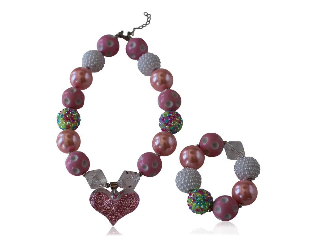 Necklace & Bracelet Set (6 options available) - Desert Roses - 3