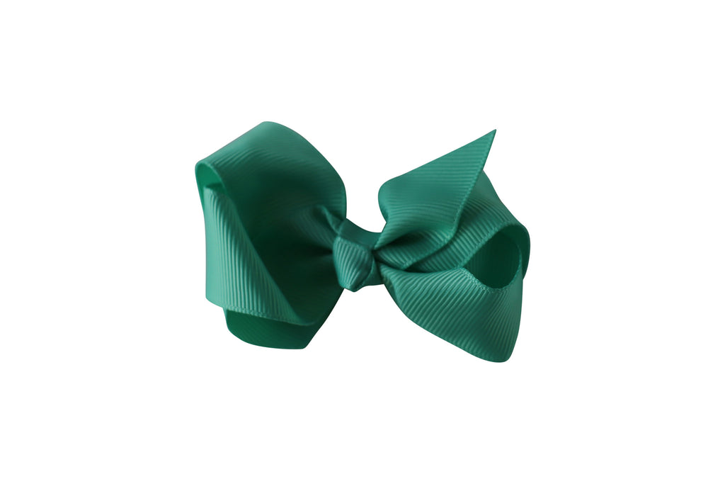 Small Boutique Twisted Knot Bow - Desert Roses - 10