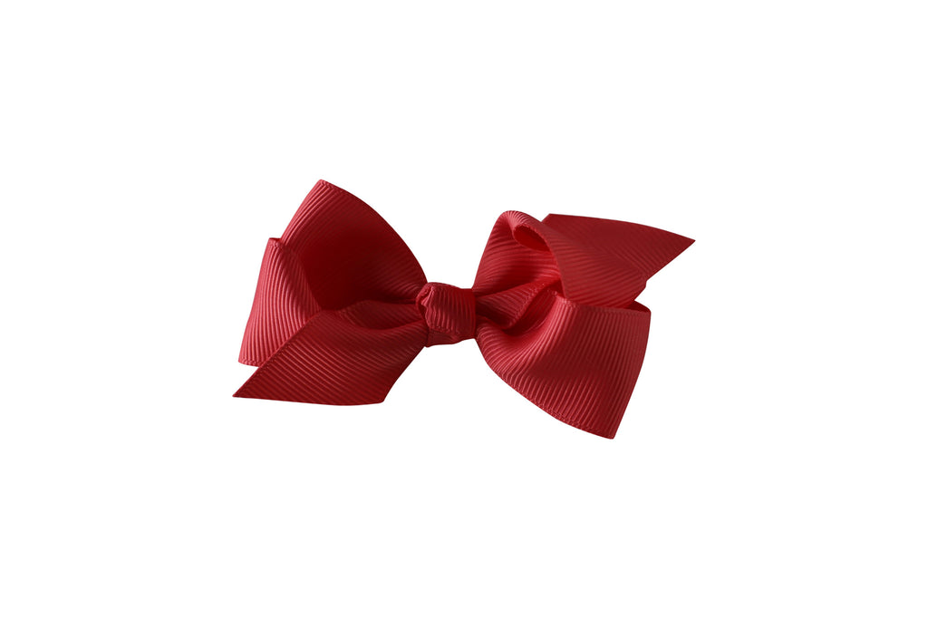 Small Boutique Twisted Knot Bow - Desert Roses - 5