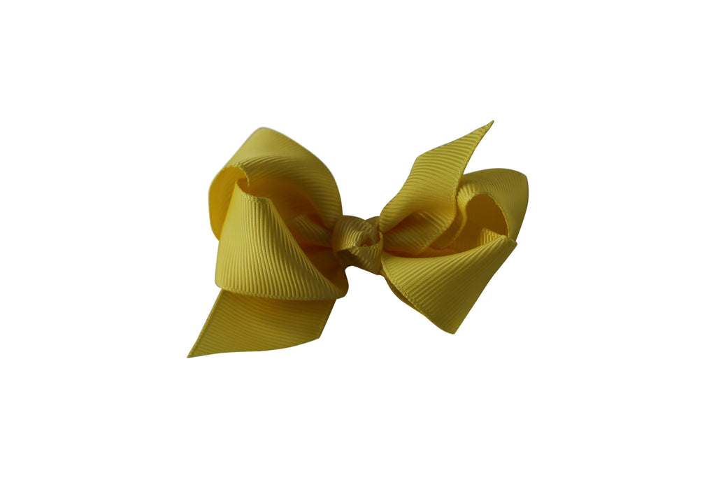 Small Boutique Twisted Knot Bow - Desert Roses - 13