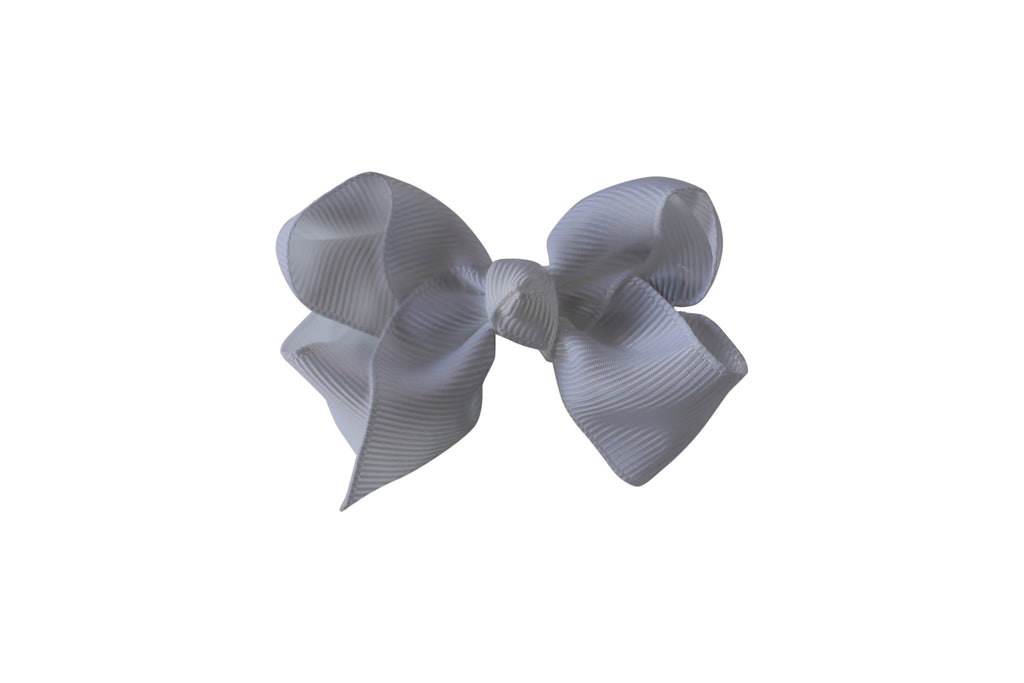 Small Boutique Twisted Knot Bow - Desert Roses - 6