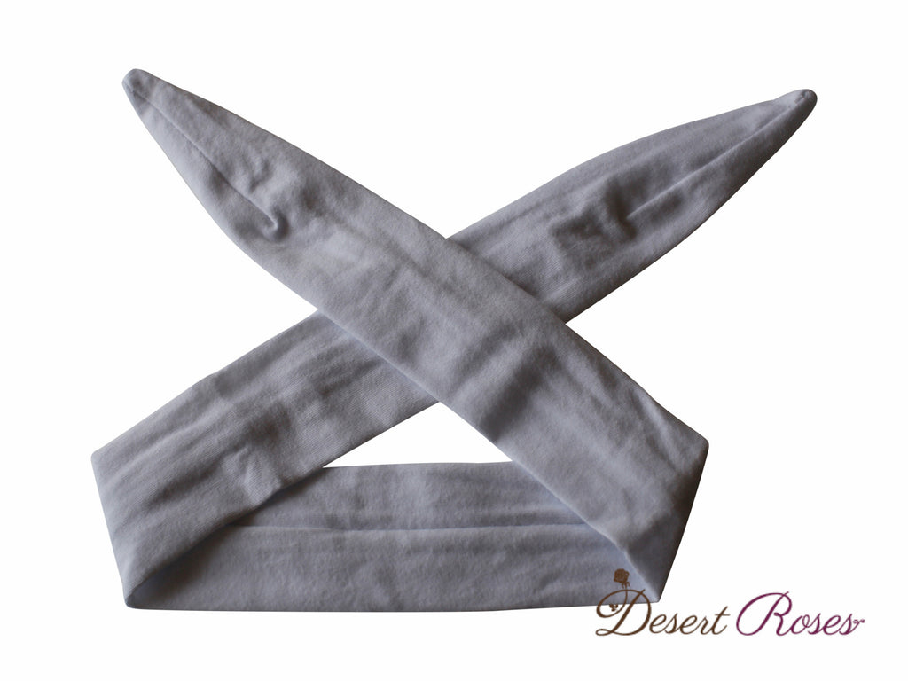 Solid Top Knot Headband - Desert Roses - 10