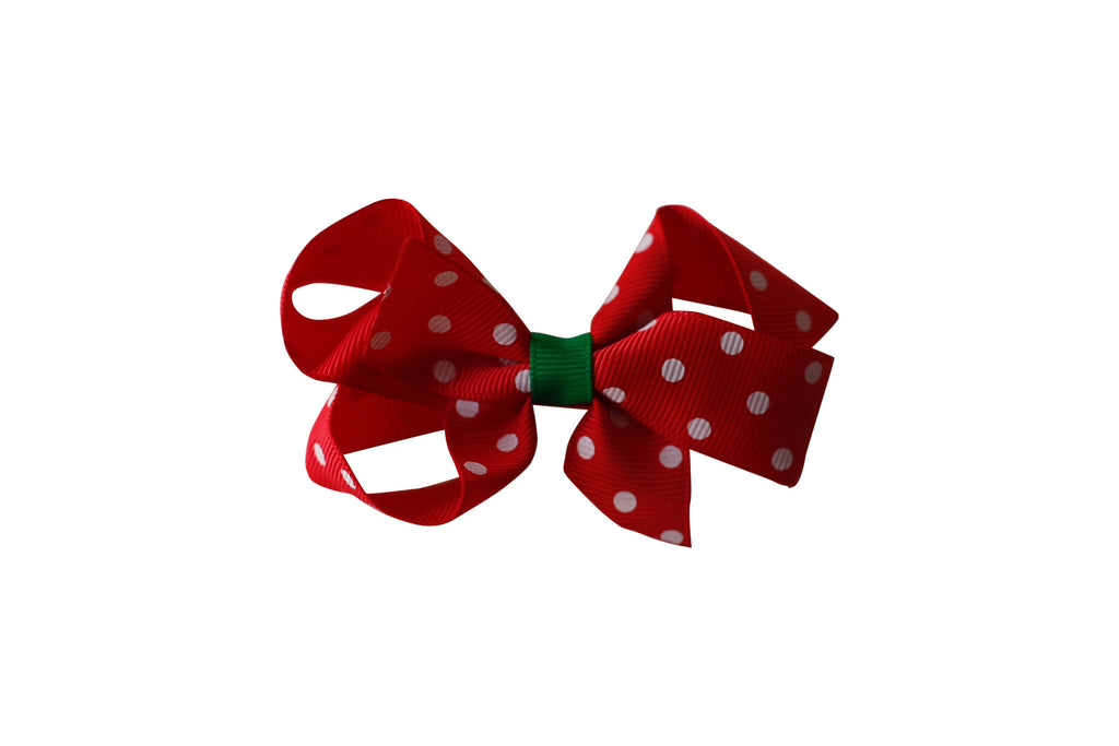 Polkadot Boutique Looped Bow