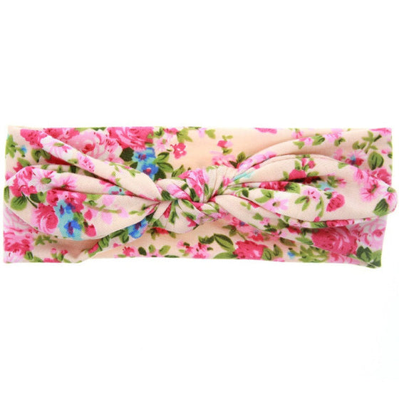 Pre-Knotted Headwraps - Desert Roses - 23
