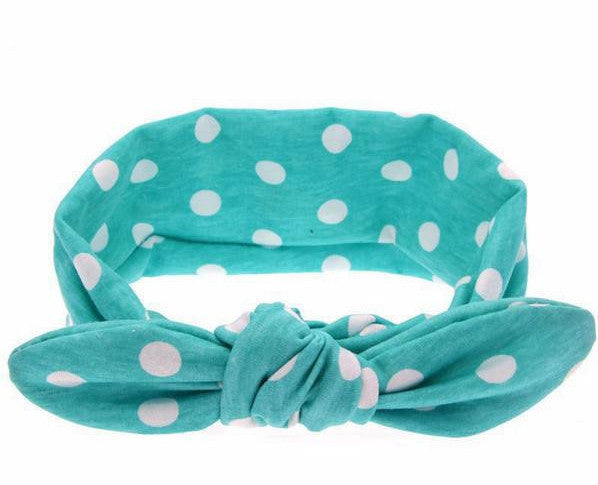 TopKnot Headwrap **Dots**