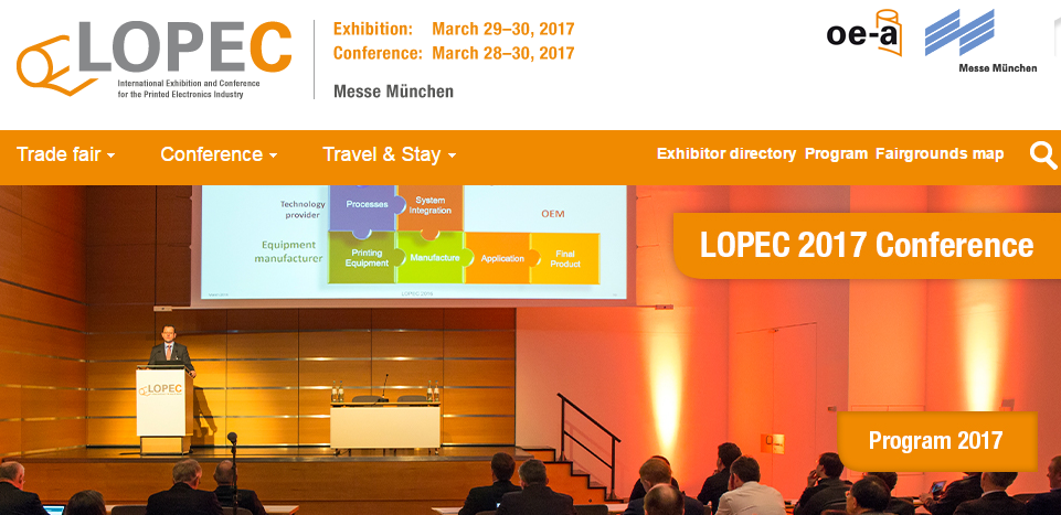Heading to LOPEC - Munich - March 2017