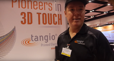 Tangio @ Printed Electronics USA 2015!