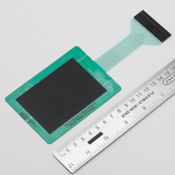 TPE-901 - Shunt-Mode 3D Multi-Touch Resistive force sensor - 10cm x 7cm