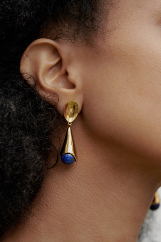 LAPIS ANNA EARRINGS