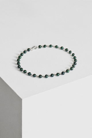 GREEN PEARL COLLAR