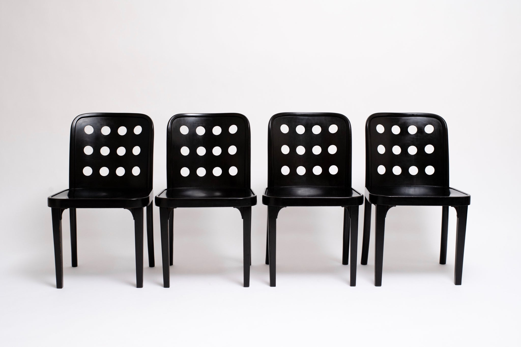SET OF CHAIRS. JOSEF HOFFMAN, C. 1928