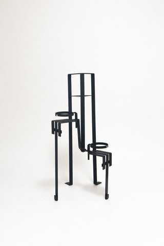 PIERRE CHAREAU, PF35 PLANT STAND, C. 1928