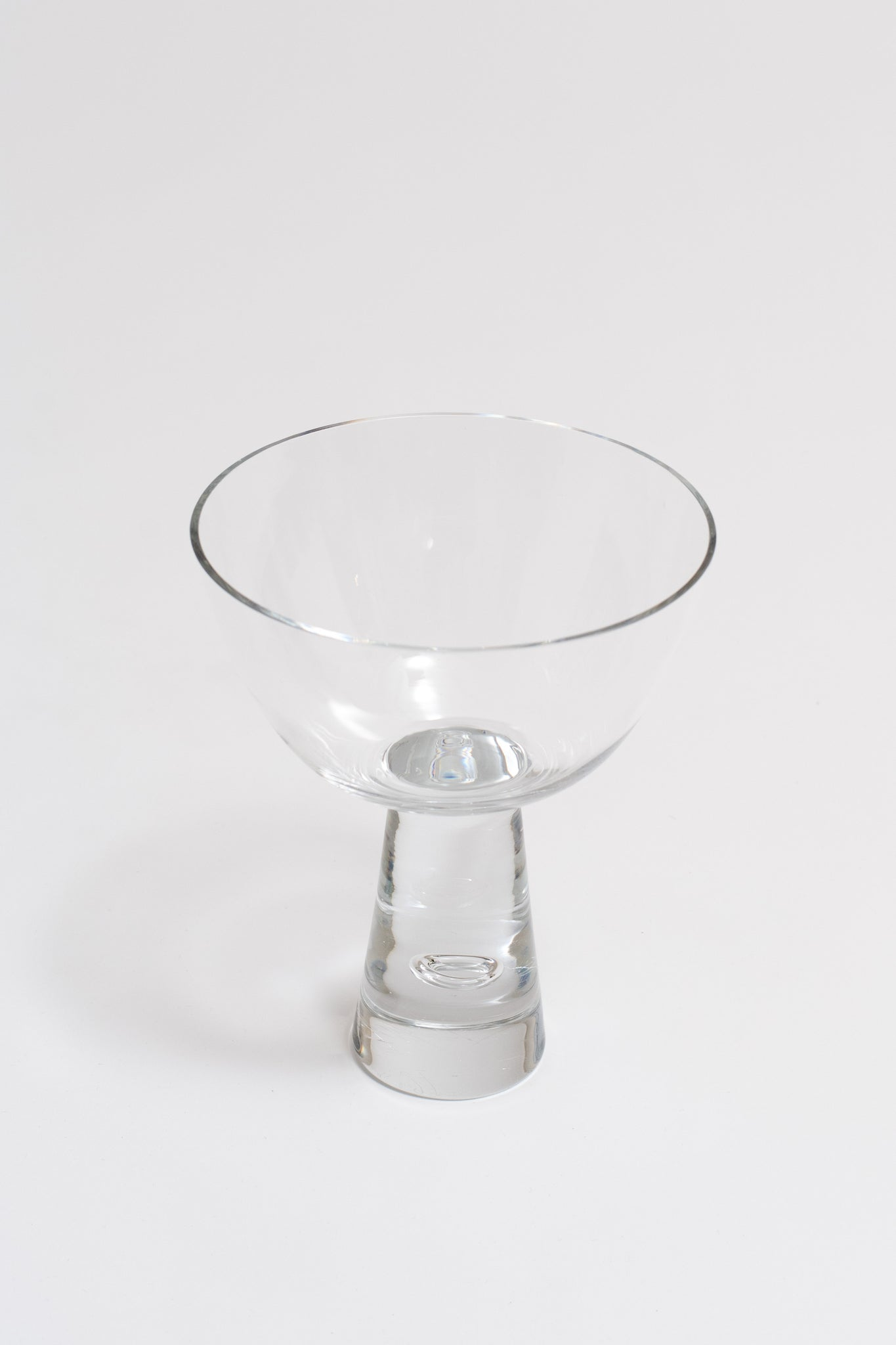 GLASS COMPOTE, C. 1960