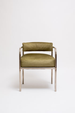 PAIR OF NO. 14 ARMCHAIRS. RENE HERBST, C. 1928