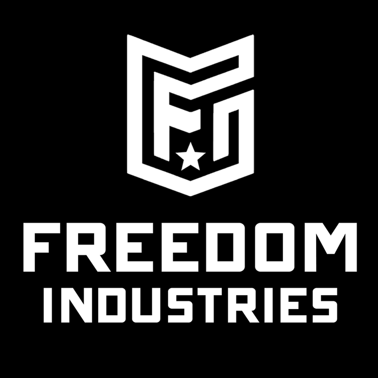FORWARD CREST LOGO  | LARGE DECAL - FREEDOM INDUSTRIES (3446755262536)