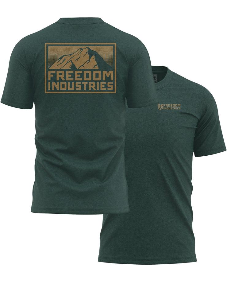 MTN PLUS TEE - ALPINE - FREEDOM INDUSTRIES (4479155339336) (4479288705096)