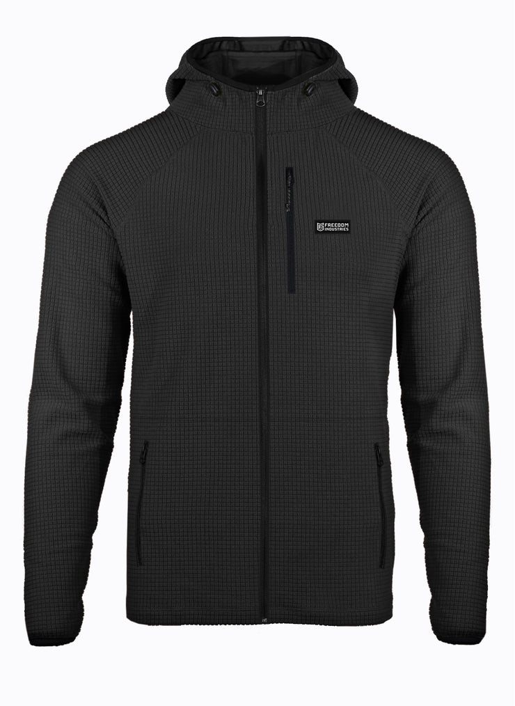 RADIASE® THERMAL GRID FULL ZIP HOODY MEN'S (5858011840584)