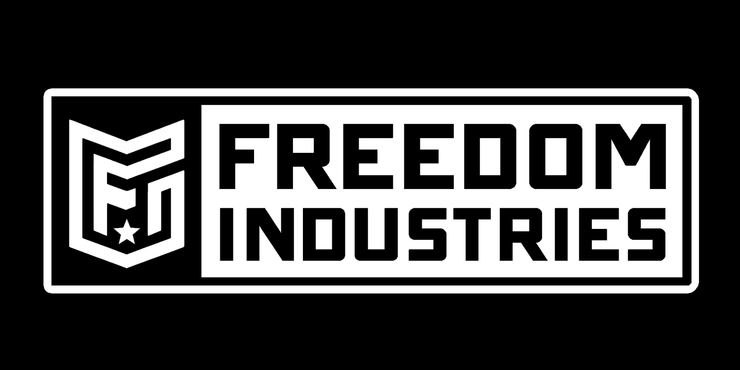 FORWARD BLOCK LOGO | DECAL - FREEDOM INDUSTRIES (3447036969032)