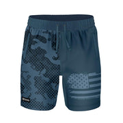 ADAPT+ HYBRID WATER SHORT - BLUESTEEL HALFTONE - FREEDOM INDUSTRIES (4560892198984) (4560879943752)