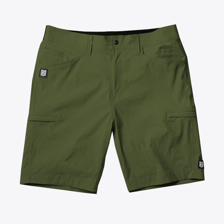 "TRAVERSE RIPSTOP SHORT - 9"" - CALLISTE GREEN (4593552687176)"