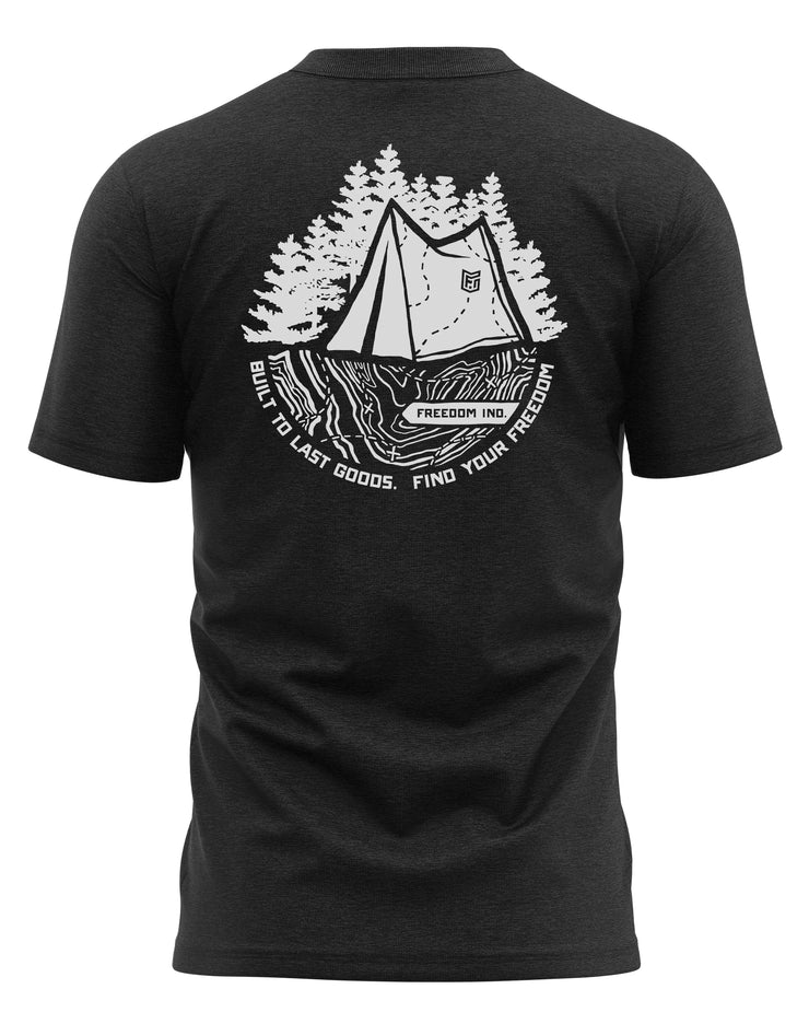 TOPO PLUS TEE - CHARCOAL - FREEDOM INDUSTRIES (4479291818056)