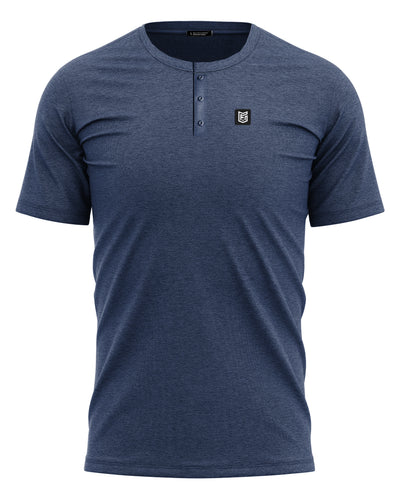 HUCK TRAIL HENLEY - ENSIGN BLUE - FREEDOM INDUSTRIES (4562978832456)