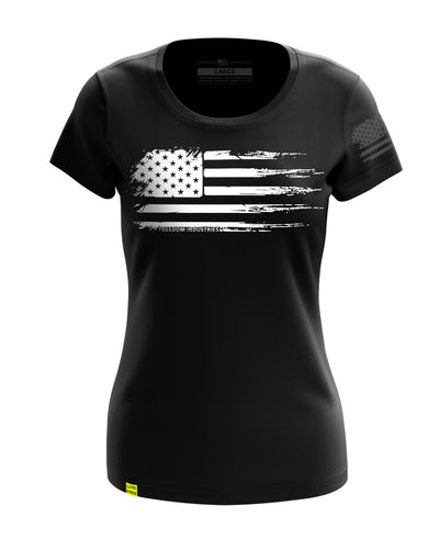 WHITE FLAG | WOMENS TEE - FREEDOM INDUSTRIES (327030276120)