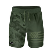 ADAPT+ HYBRID WATER SHORT - ALPINE HALFTONE - FREEDOM INDUSTRIES (4560879943752)