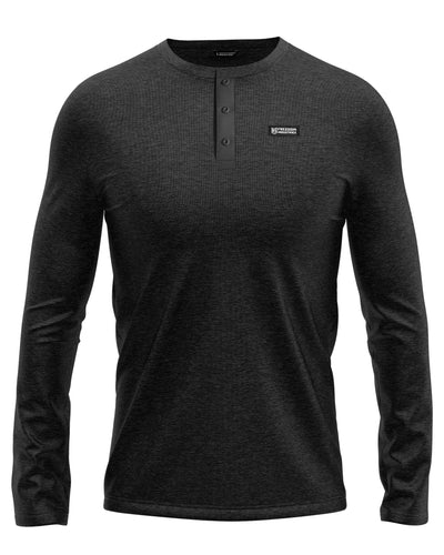 FORWARD PLUS HENLEY SHIRT - FREEDOM INDUSTRIES (4457256812616)