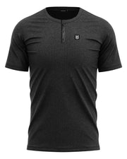 HUCK TRAIL HENLEY - JET BLACK - FREEDOM INDUSTRIES (4562976309320) (4562978832456)
