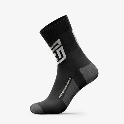SHIELD CREW PERFORMANCE SOCK - FREEDOM INDUSTRIES (3516087533640)