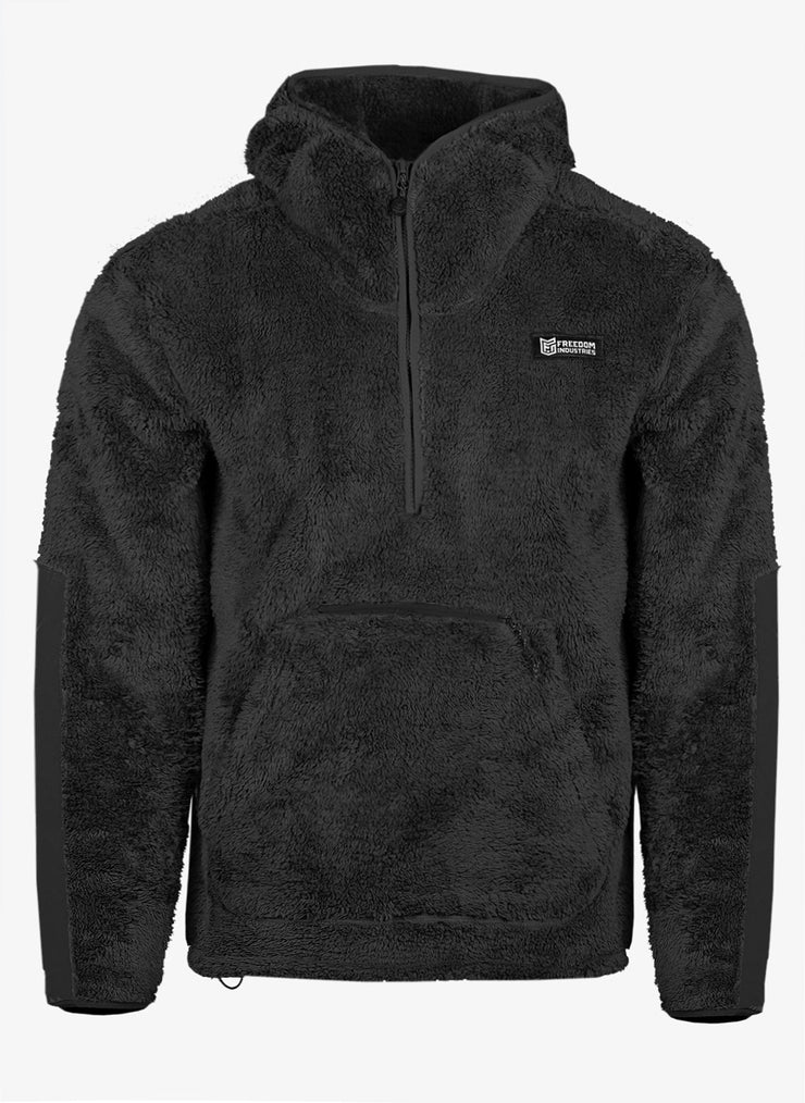 HARRIMAN HI-PILE SHERPA FLEECE 1/2 ZIP HOODY (5850717618248)