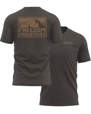 MTN PLUS TEE - EARTH - FREEDOM INDUSTRIES (4479254724680) (4479288705096)