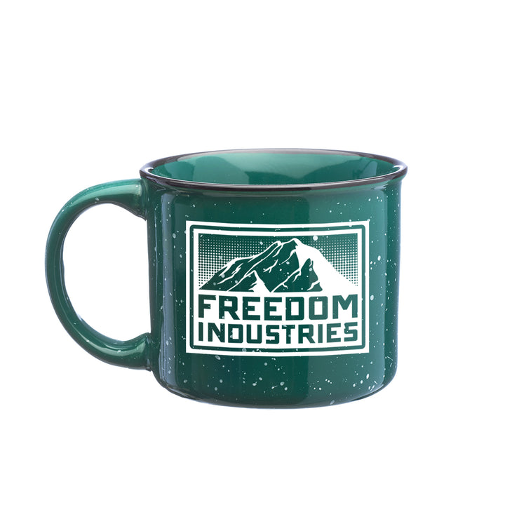MTN CAMP MUG - FREEDOM INDUSTRIES (4458463002696)