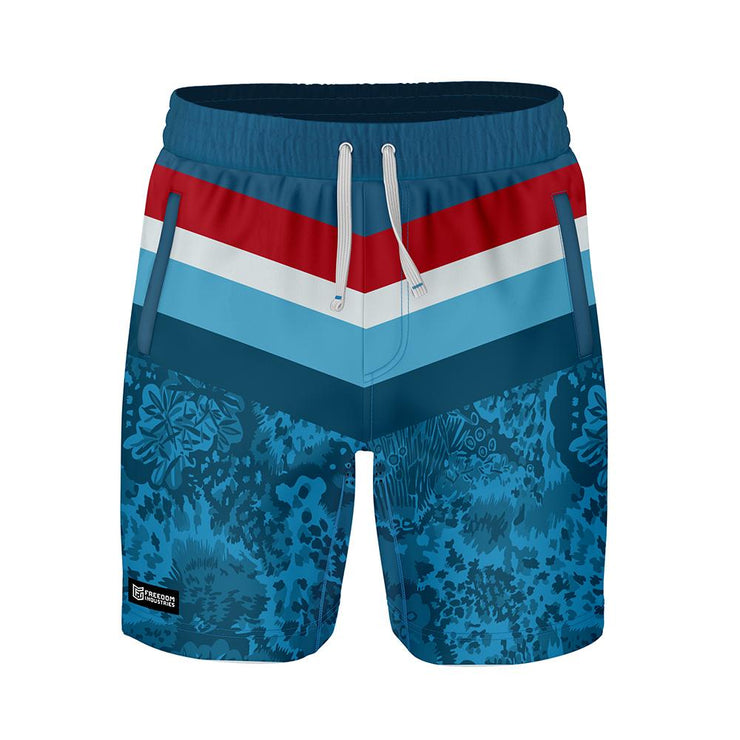 ADAPT+ HYBRID WATER SHORT - PACIFICA - FREEDOM INDUSTRIES (4560953016392) (4560929128520)