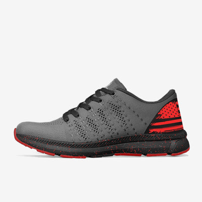 FREEKNITV1™ SHOE | RED/CHARCOAL - FREEDOM INDUSTRIES (1662789877832)
