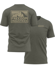 MTN PLUS TEE -  SAGE - FREEDOM INDUSTRIES (4479279628360) (4479288705096)