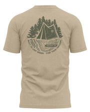 TOPO PLUS TEE - SAND - FREEDOM INDUSTRIES (4481956053064) (4479291818056)