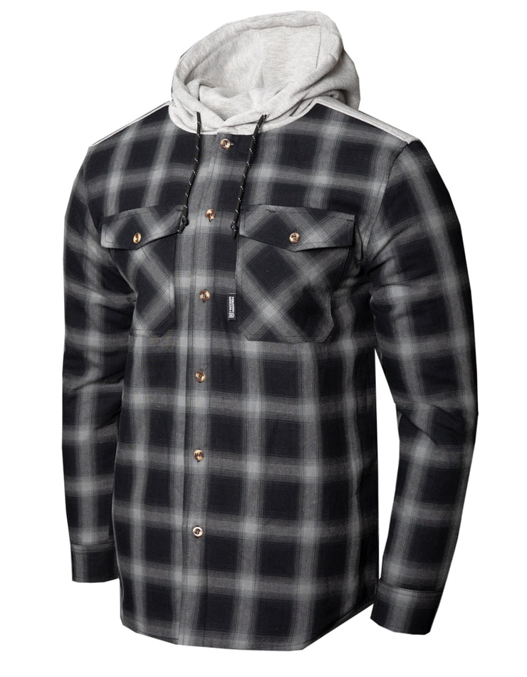 TIORATI FLANNEL HOODY JACKET MEN'S (5858360393800)